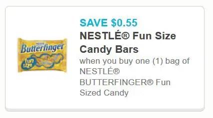 Nestle butterfinger dec