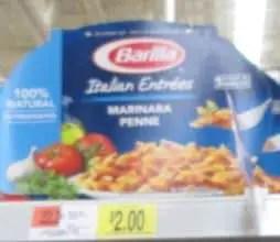 walmart barilla meal