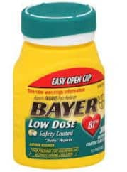 Bayer low does new