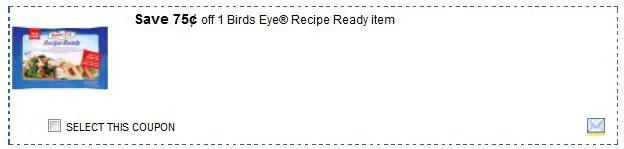 Birdseye recipe ready feb