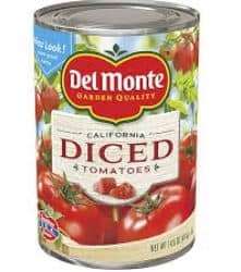 del monte canned new