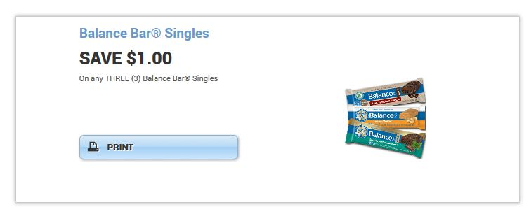 Balance bar singles