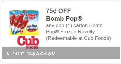 bomb pop cub