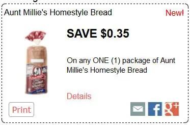 aunt millies bread