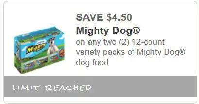Mighty Dog Printable Coupon - Printable