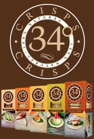 34 degree crisps