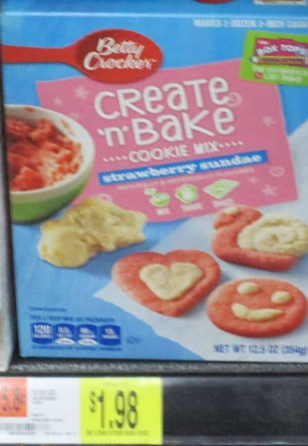 create and bake walmart