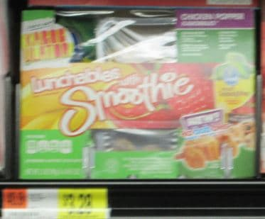 lunchables with smoothie walmart