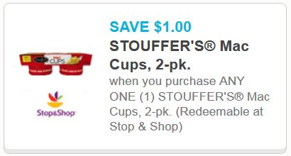 Stouffers Mac Cups Printable Coupon Printable Coupons And Deals