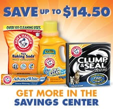 $14.50 in Arm & Hammer Coupons