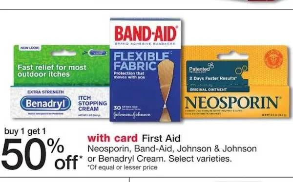 Band-Aid Walgreens BOGO
