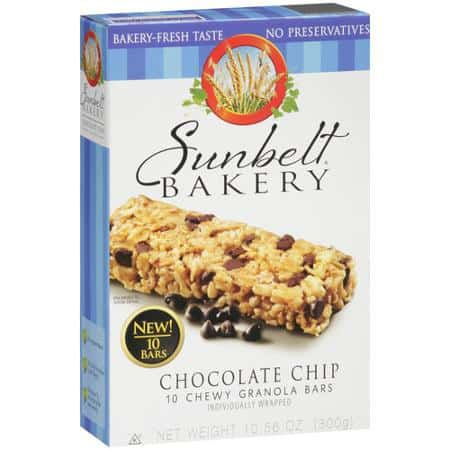 Sunbelt Bakery Chocolate Chip
