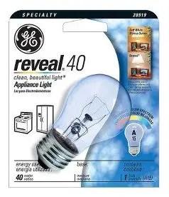 ge reveal target appliance bulb