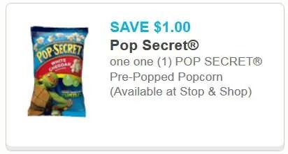 Pop Secret Pre-Popped Popcorn