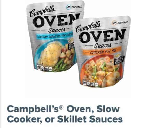 Campbells Oven Sauces