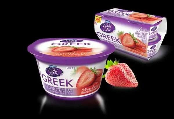 Dannon Light and Fit Greek Yogurt