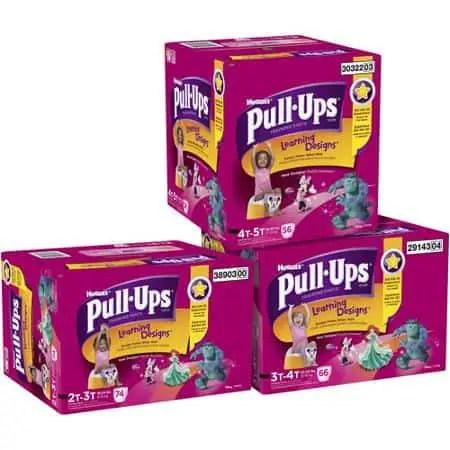 Huggies Pullups Super Pack