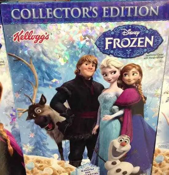 Kellogg Disney Frozen Cereal