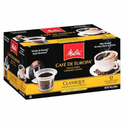 Melitta Coffee Printable Coupon
