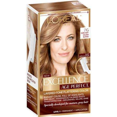 loreal excellence age perfect color chart dark brown hairs