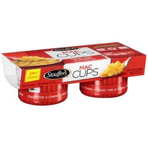 Stouffer's mac cups