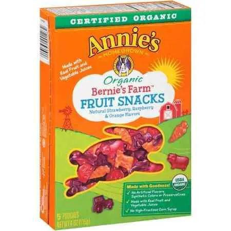 Bernie's Fruit Snacks