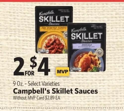 Campbells Cooking Sauce