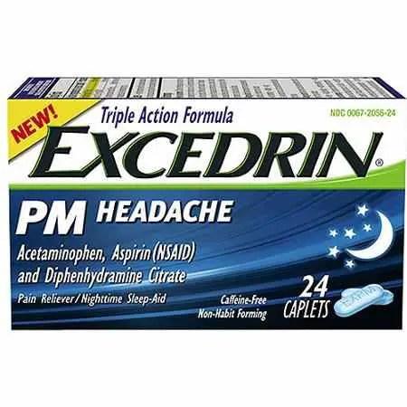 Excedrin PM Headache 24 count Printable Coupon
