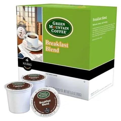Green Mountain Coffee K-Cups Printable Coupon