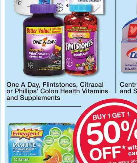 One A Day Womens Printable Coupon