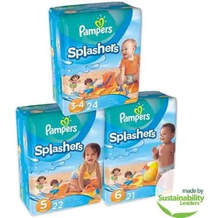 Pampers Splashers Swim