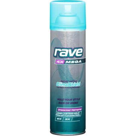 Rave Hairspray Printable Coupon