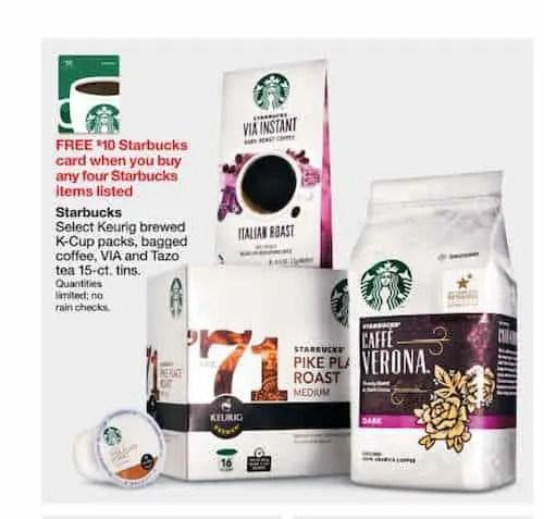 Starbucks VIA Target