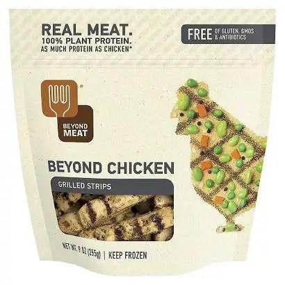 beyond meat chicken