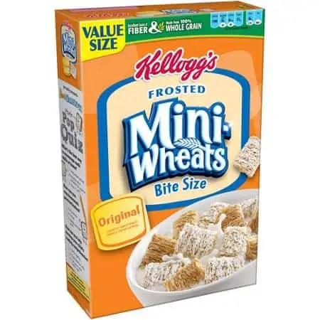 kelloggs frosted mini wheats