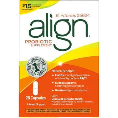 Align Probiotic Product Printable Coupon