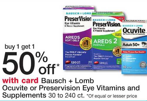 Bausch And Lomb Eye Care Printable Coupon
