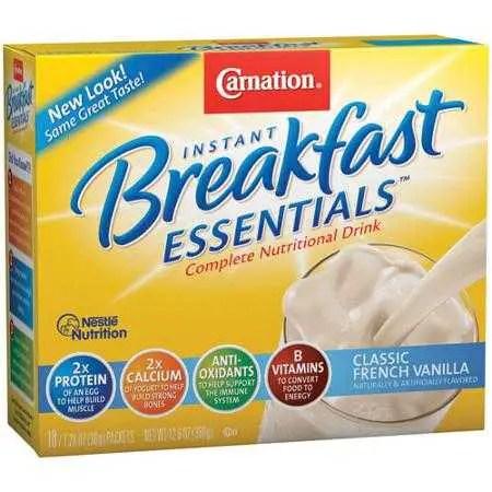 Carnation Breakfast Essentials Printable Coupon