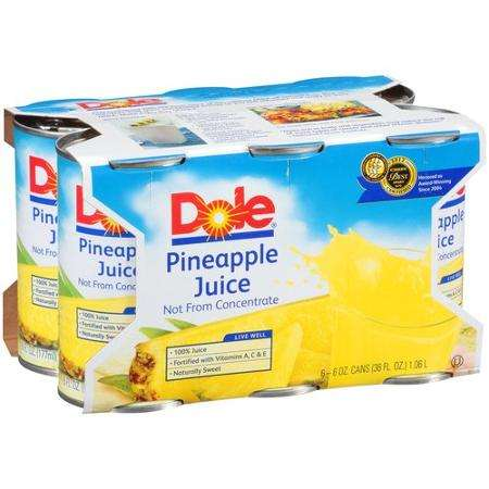 Dole Pineapple Juice Printable Coupon
