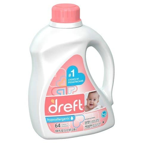 Dreft Active Baby Laundry Detergent Printable Coupon