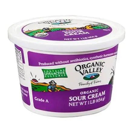 Organic Valley Sour Cream Printable Coupon