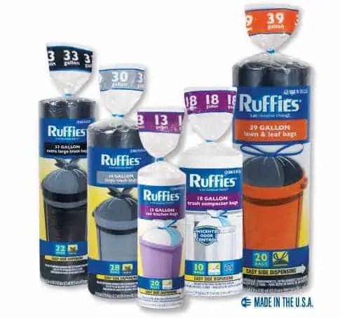 Ruffles Trash Bags Printable Coupon