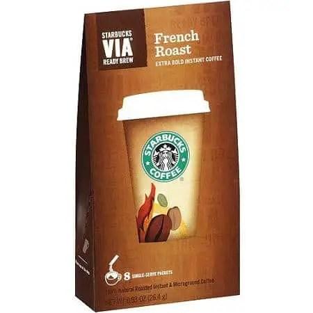 Starbucks VIA Instant Coffee Printable Coupon