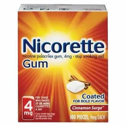 nicorette gum Printable Coupon