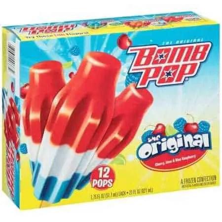Bomb Pops Frozen Popsicles Printable Coupon