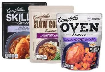 Campbells-Sauces Printable Coupon