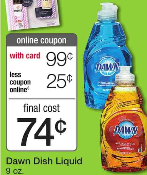 Dawn Dish Soap Printable Coupon