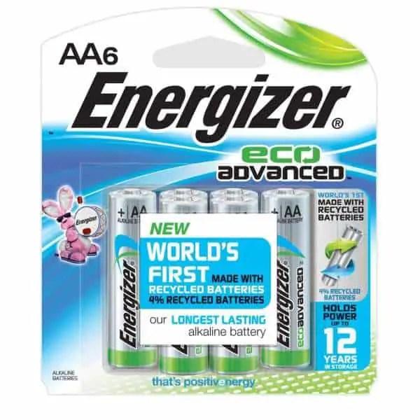 Energizer Eco Advanced Battery