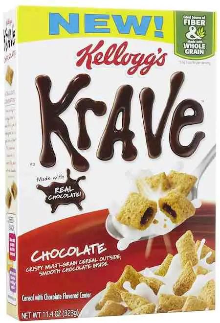 Kellogg's Krave Cereal Printable Coupon