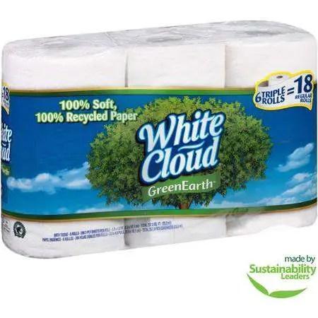 White Cloud Triple Roll Printable Coupon